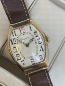 VINTAGE 14ct ROSE GOLD LONGINES WATCH
