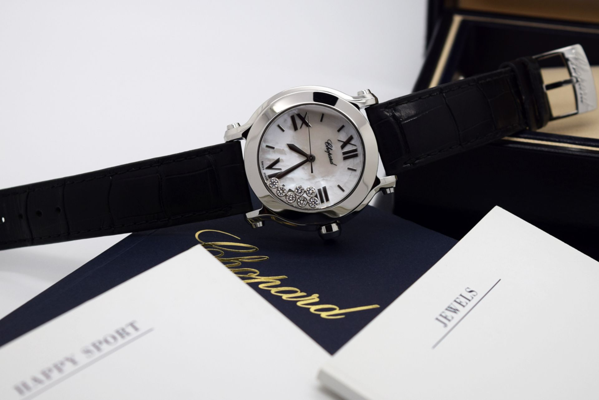 Chopard Happy Sport - Diamond Model with Mother of Pearl Dial! - Image 12 of 12