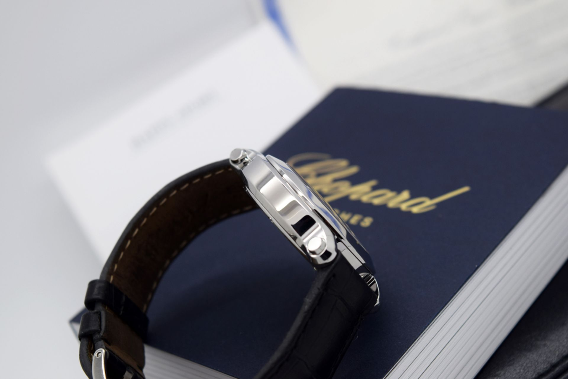 Chopard Happy Sport - Diamond Model with Mother of Pearl Dial! - Image 9 of 12