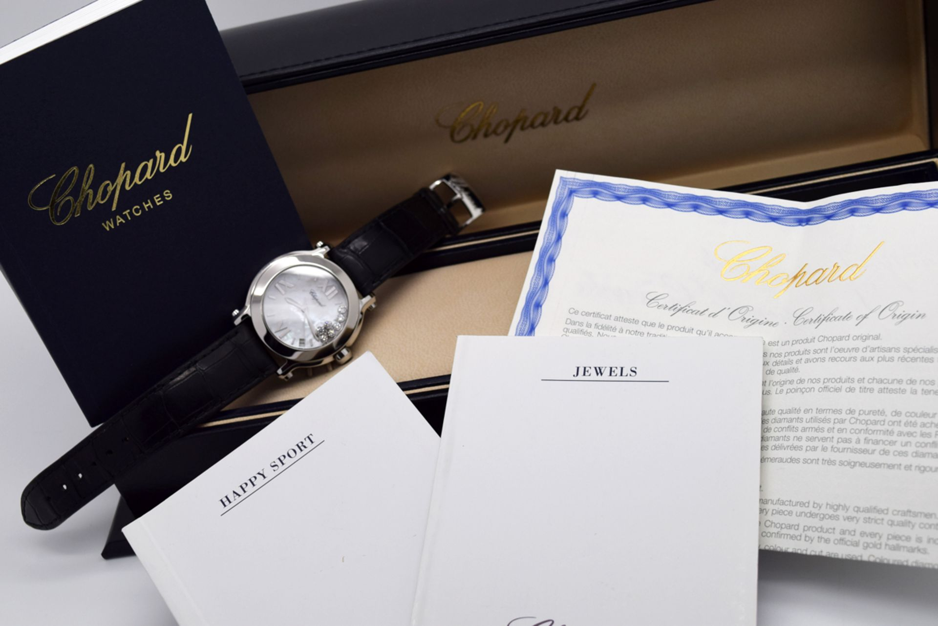 Chopard Happy Sport - Diamond Model with Mother of Pearl Dial! - Image 11 of 12
