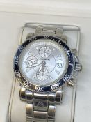 MONT BLANC SPORT AUTOMATIC STAINLESS STEEL WATCH