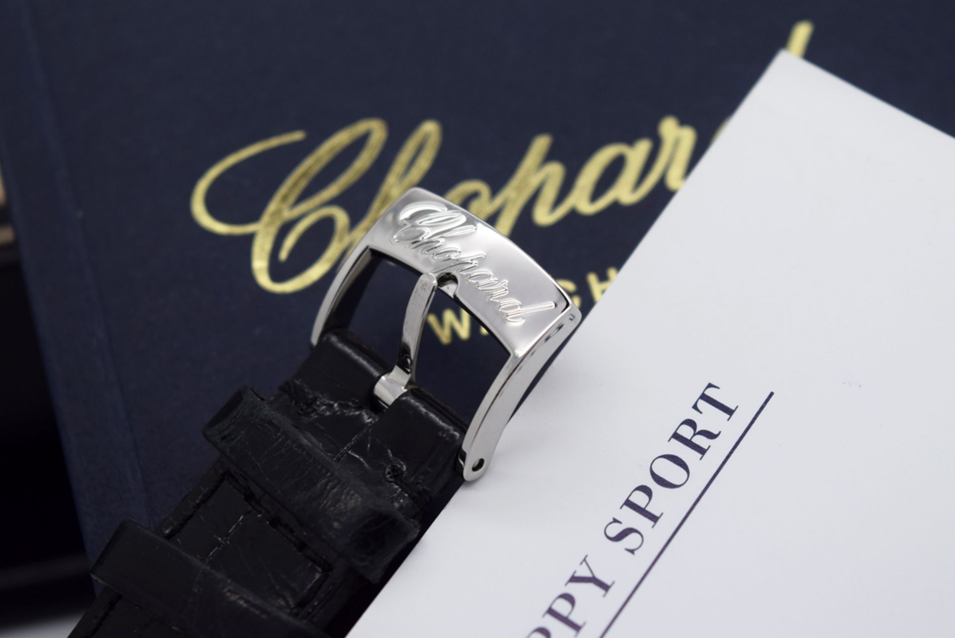 Chopard Happy Sport - Diamond Model with Mother of Pearl Dial! - Image 7 of 12