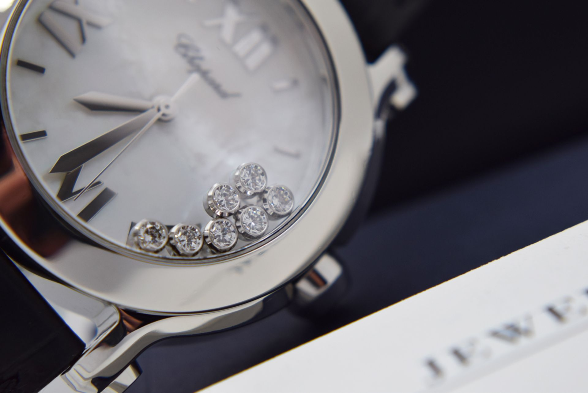 Chopard Happy Sport - Diamond Model with Mother of Pearl Dial! - Image 4 of 12