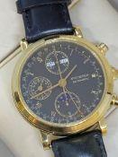 18ct GOLD BUCHERER AUTOMATIC CHRONOGRAPH WATCH