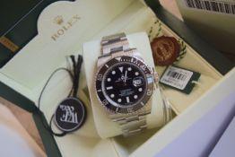 Investment - Rolex Submariner Ref. 116610LN - Full Collectors Set + Watchfinder & Co. Receipt