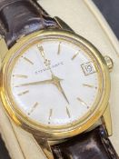 ETERNA MATIC VINTAGE 1950-60 18K GOLD WATCH - 44 GRAMS
