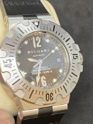 BVLGARI DIAGONO AUTOMATIC PROFESSIONAL DIVER WATCH