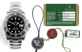 Investment - Rolex Submariner Ref. 116610LN - Full Collectors Set + Watchfinder & Co. Receipt