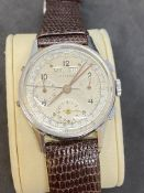 VINTAGE CHRONO WATCH MARKED LONGINES