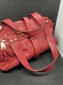RED MULBERRY HANDBAG WITH DUSTBAG