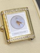 JAEGER LECOULTRE REVERSIBLE 18ct GOLD & DIAMOND WATCH BODY