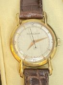 JAEGER LECOULTRE 18ct GOLD WATCH