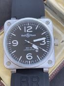 LARGE WATCH MARKED BELL & ROSS
