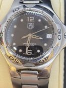 TAG HEUER STAINLESS STEEL WATCH