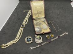 VARIOUS VINTAGE SILVER BITS - ALL ONE LOT