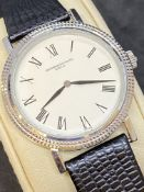 VACHERON & CONSTANTIN MOVEMENT WITH A WATCH CASE & DIAL MARKED V & C