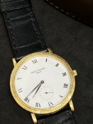 PATEK PHILIPPE 18ct GOLD CALATRAVA WATCH