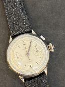 VINTAGE WATCH MARKED ROLEX - ONE BUTTON CHRONO
