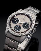 Rare Rolex steel Daytona Paul Newman reference 6239- Circa 1966