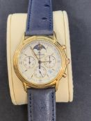 Jaeger-LeCoultre Odysseus Chronograph Moonphase 165.7.3 18k Yellow Gold - 34mm