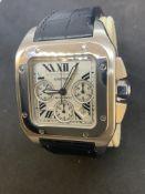 Cartier Santos 100XL Automatic Chronograph 2740 Watch