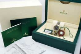 Rolex Lady Datejust - 18k Gold & Stainless Steel with Grey Diamond Dial! Service Receipts etc.!