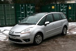 A 2009 Citroen Grand Picasso VTR HDi, registration number SA09 KHD, chassis number 61188480926,