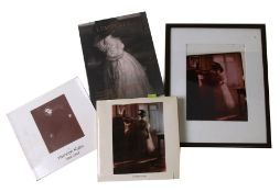 Heinrich Kuhn (German 1866-1944) photographer, reference books and photographs relating to the