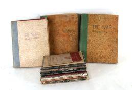 A quantity of WW2 HMSO editions including: There's Freedom in the Air, Arctic War, What Britain