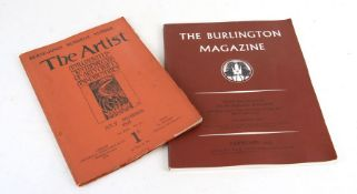 The Artist's Magazine, July 1989 vol. XXII, number 223, the Burn-Jones memorial number, and the