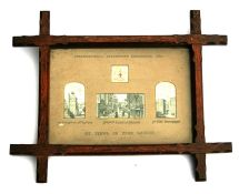Late 19th century Victorian school - a set of three 'Ye Views of Olde London', Church All Hallows,
