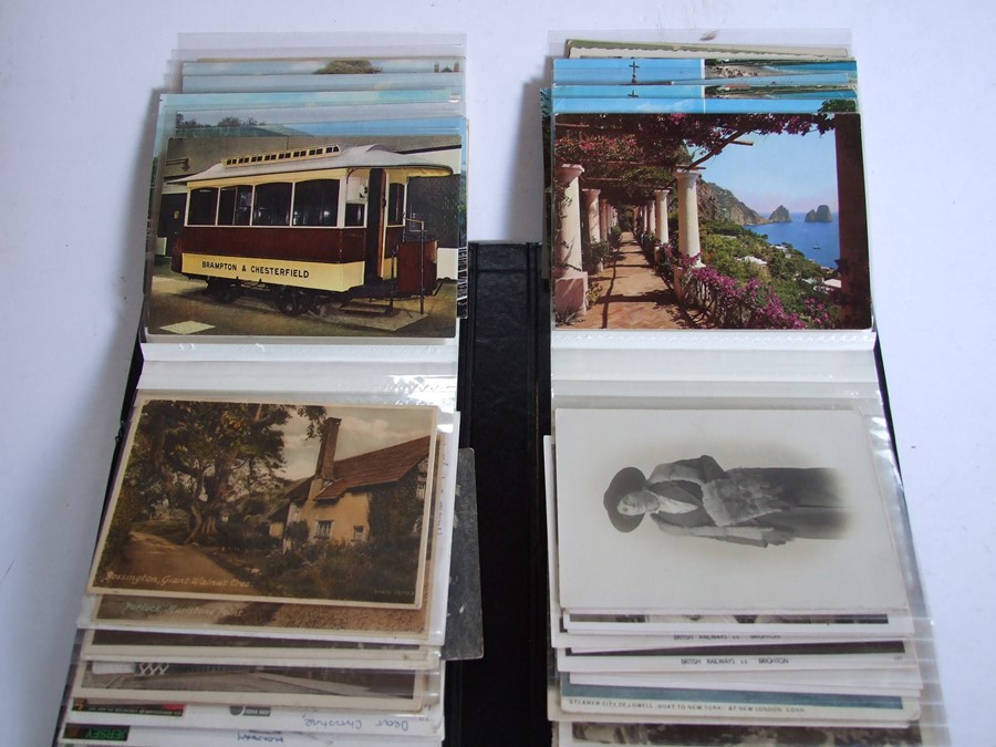 Approximately 200 early to mid 20th century Military postcards and photographs contained in a red - Image 19 of 19