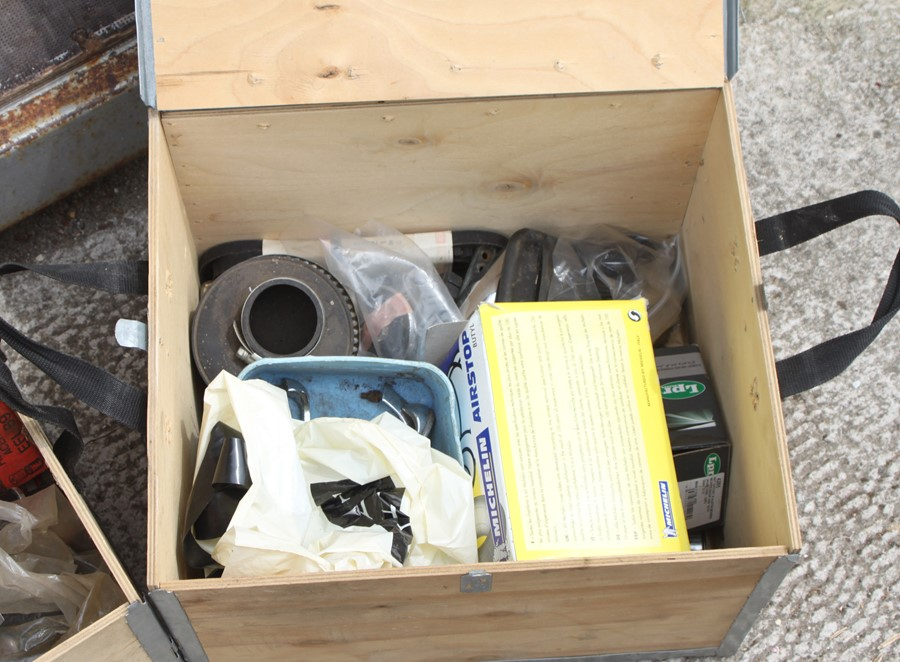 Three boxes containing various spares and consumables (3). - Image 3 of 3