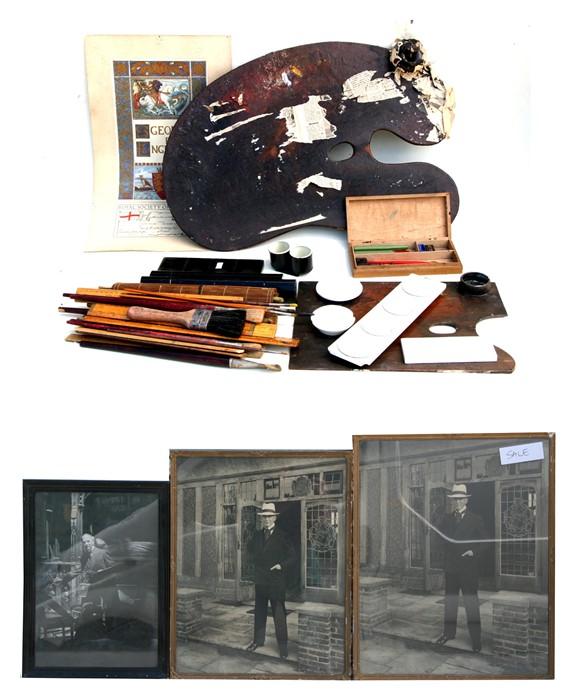 Frank Owen Salisbury (British 1874-1962) - contents of his studio to include watercolour