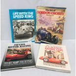 Four Motoring Volumes: Nye & Goddard, Classic Racing Cars; Smith (Alan R), Fifties Motor Racing;