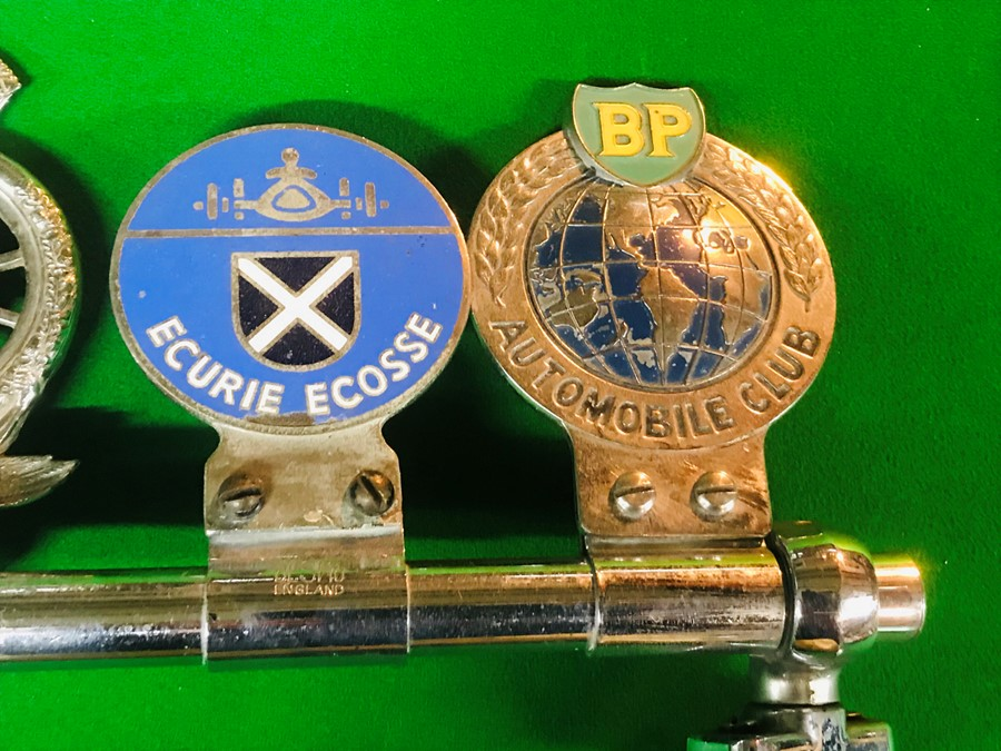 Five badge bar badges, for Bugatti Owners Club, Bentley Drivers Club, Royal Automobile Club - Image 2 of 3