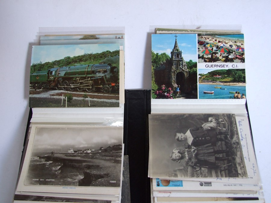 Approximately 200 early to mid 20th century Military postcards and photographs contained in a red - Image 18 of 19