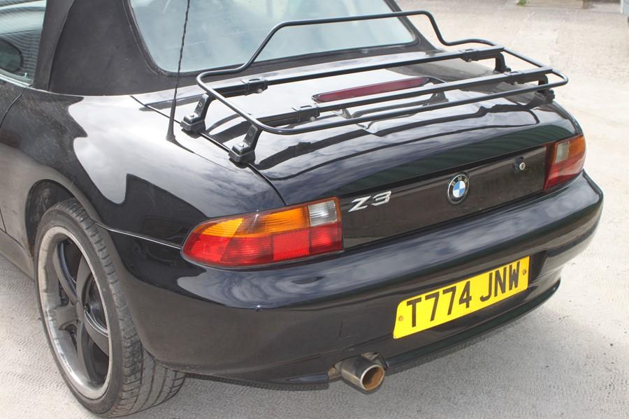A 1999 BMW Z3 1.8 Roadster, registration number T774 JNW, black. Finished in black with a black - Image 4 of 10