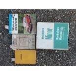 A quantity of Morris operation manuals including Minor, Five-CWT van (Series Z), 13-1100 Mk II and