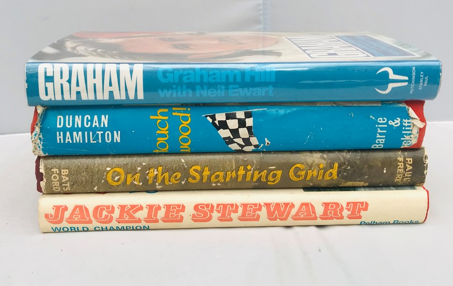 Racing Driver Biographies: Graham Hill with Neil Ewart, Graham; Duncan Hamilton with Lionel Scott, - Image 3 of 4