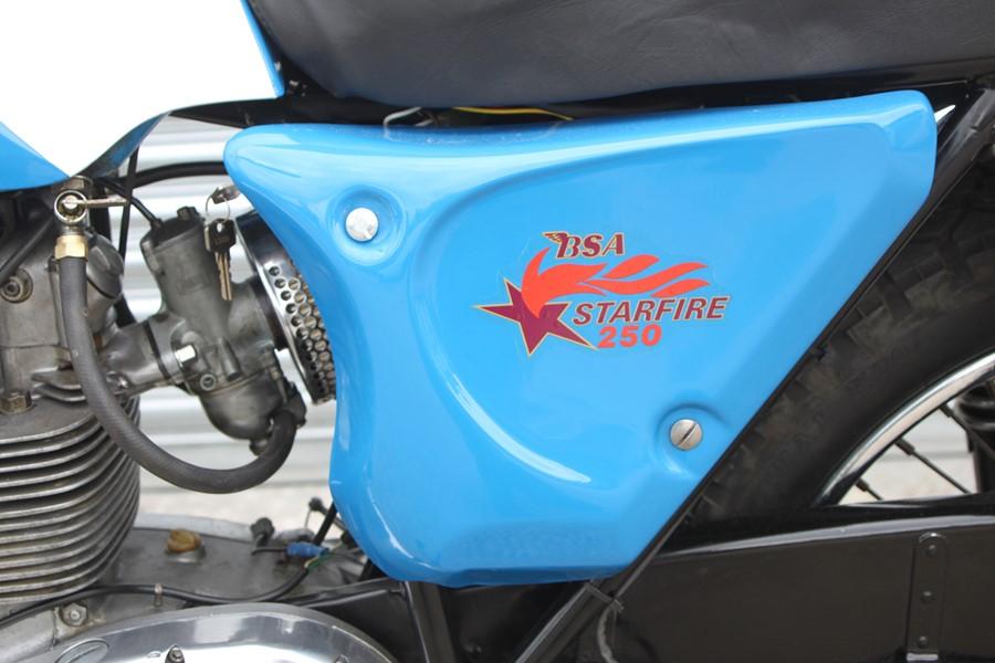 A 1968 BSA B25 S Starfire, registration no. AHJ 451E, frame no. B25B 584, engine no. B25B 584, Blue. - Image 8 of 13