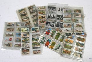 A large quantity of natural history and wild animal related cigarette and trade cards covering all