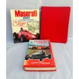 Maserati Interest: Pritchard (Anthony), Maserati – A History, 1st edition with dust jacket; Crump (