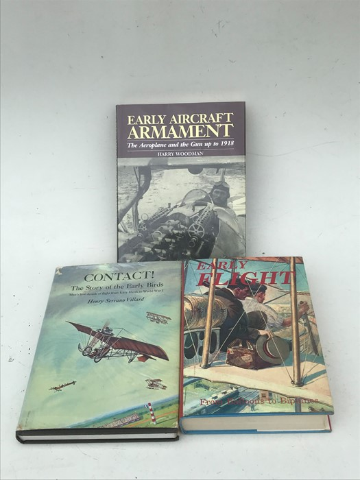 Aviation Interest: assorted volumes including Early Flight ? From Balloons to Biplanes; Taylor (John - Image 2 of 3