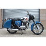 A 1962 BSA A65 Star Twin, registration no. AJM 540A, frame no. A50 5824, engine no. A65 3879,
