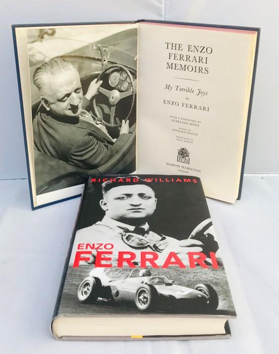 Ferrari Interest: Colombo (Gioachino), Origins of the Ferrari Legend, English edition, with dust