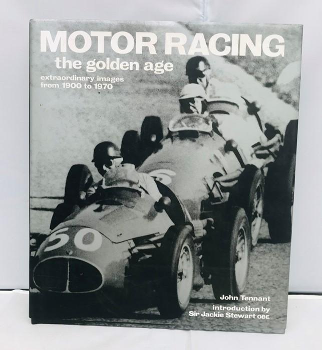 Three Motor Racing reference books: Tennant (John), Motor racing – The Golden Age 1900 – 1970; Laban - Image 2 of 4