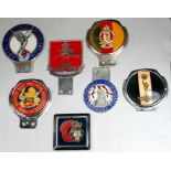 Assorted military associated badge bar badges including 6 Battery RA, Dunkirk Veterans