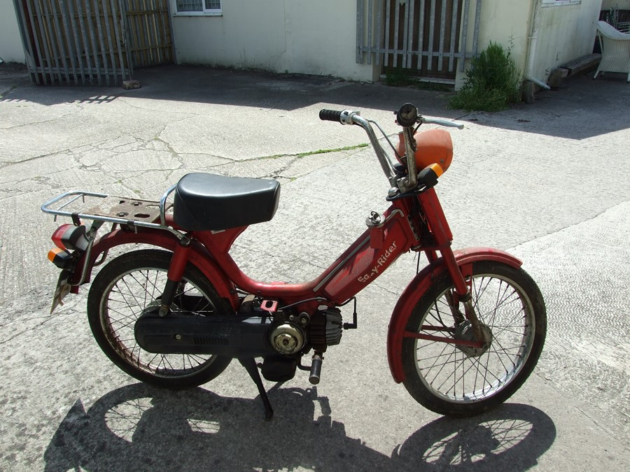 Circa 1975 Easy Rider moped project for restoration. No paperwork. Reg no. N533 NAE. - Image 2 of 2
