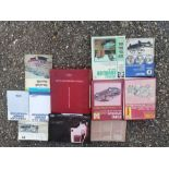 A quantity of assorted Ford & Vauxhall workshop and owner's handbooks including Console, Cortina,
